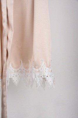 Lace Bridal Robe / Bridesmaid Robes / Robe / Bridal Robe / Bride Robe / Bridal Party Robes / Bridesmaid Gifts / Satin Robe_48