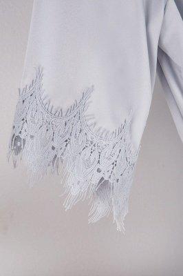 Lace Bridal Robe / Bridesmaid Robes / Robe / Bridal Robe / Bride Robe / Bridal Party Robes / Bridesmaid Gifts / Satin Robe_33