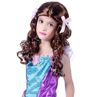 Girls Cosplay Costume Party Carnival New Year Festival Princess Wig