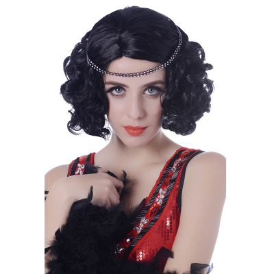 Deep Long Curly Natural Wig American Wig For Fashion Women