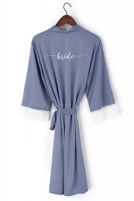 Durham | Non-personalized New Bridesmaid Robes Robes Bridal Robes Satin Robe Women Wedding Bride Robe
