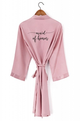 Drummer | Non-personalized Wedding Robe Bridesmaid Bride Mother Dressing Gown