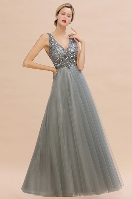Abina | Sexy V-neck Sparkly Beaded Low Back Prom Dress with Gemstones_10