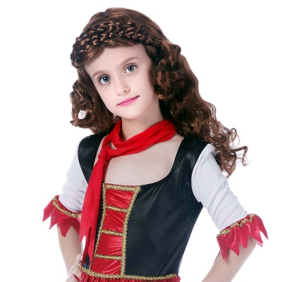 Princess Cosplay Costume Kid's Carnival Festival / Holiday Carnival Costumes Wig
