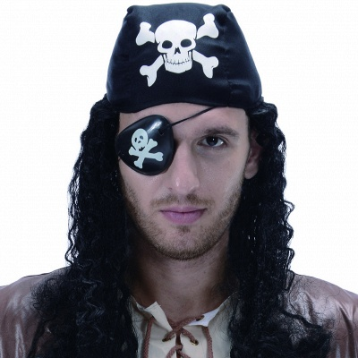 Pirate Cosplay Costume Wig | Men's Halloween Carnival Festival / Holiday Hair Wig