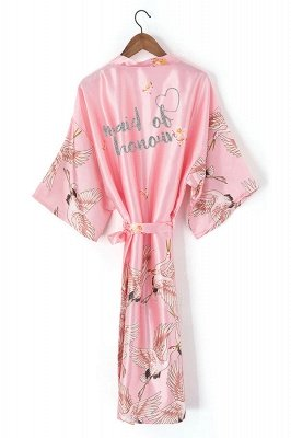 Eames | Personalized Glitter Print Custom Made Bridesmaid Robes Bride Honeymoon Robe Hen Party Robes