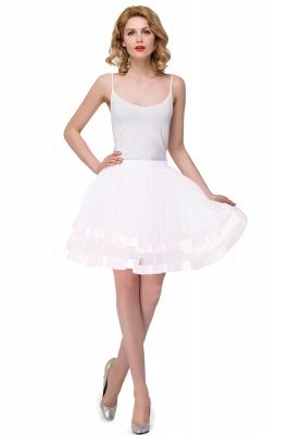 Bertha | White Puffy Prtticoat