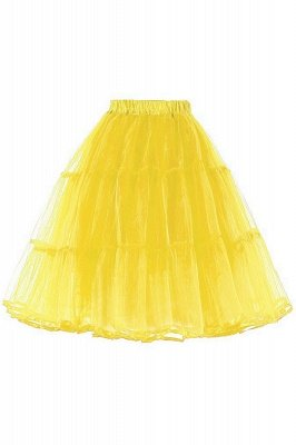 Beth Elizabeth | Yellow Puffy Petticoat with Layers