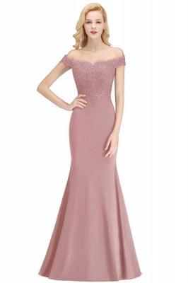 Elegante Brautjungfernkleider Dunkelgrün Online Kaufen | Günstige Brautjungferkleider Mit Applikationnen_1