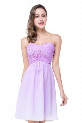 ADLEY   A-line Strapless Chiffon Bridesmaid Dress with Draped_1