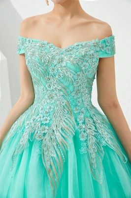 Henry   Elegant Off-the-shoulder Princess Red/Mint Prom Dress with Wing Emboirdery_17