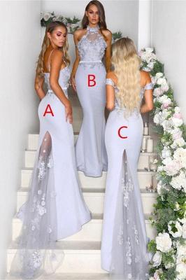 Multi-Style 2019 Bridesmaid Dress | Mermaid Lace Maid of Honor Dress On Sale_2