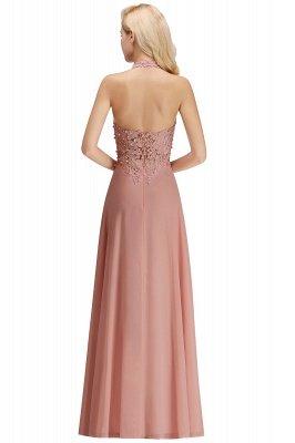 Sexy Halter Backless, Burgundy, Navy, Pink, Silver Sleeveless Princess Formal Dress_28
