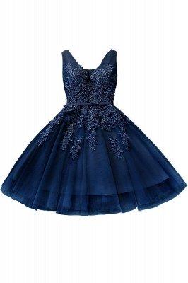 ADDILYNN | Платье выпускного вечера из тюля длиной до колена с аппликациями_6