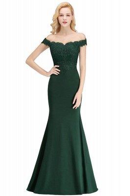 Elegante Brautjungfernkleider Dunkelgrün Online Kaufen | Günstige Brautjungferkleider Mit Applikationnen_8