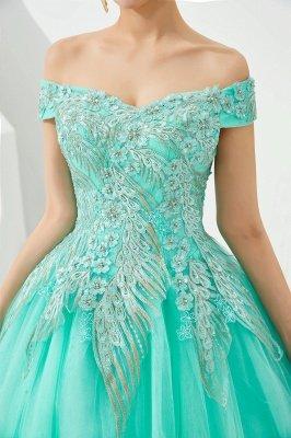 Генри | Элегантное красное плечевое платье принцессы с открытыми плечами и вышивкой с крылышками_17
