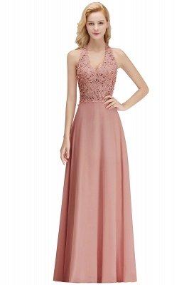 Sexy Halter Backless, Burgundy, Navy, Pink, Silver Sleeveless Princess Formal Dress_2