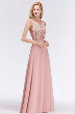 Cap Sleeve Lace Appliques Beads Slim A-line Evening Prom Dress for Women_7
