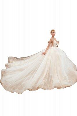Vestido de novia marfil con tirantes finos boho | Vestidos de novia románticos en venta_22