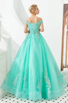 Henry | Elegant Off-the-shoulder Princess Red/Mint Prom Dress with Wing Emboirdery_20