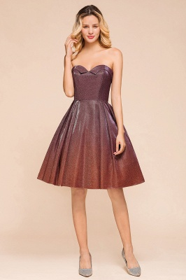 Arleen | Cute Sweetheart Sparkle Sequined Homecoming Dress_1