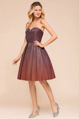 Arleen | Cute Sweetheart Sparkle Sequined Homecoming Dress_7