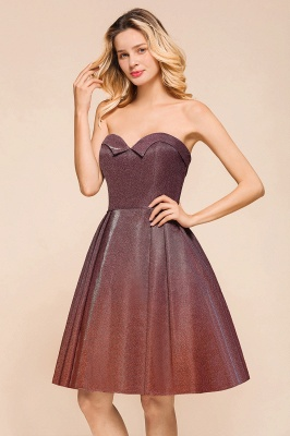 Arleen | Cute Sweetheart Sparkle Sequined Homecoming Dress_8
