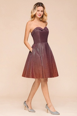 Arleen | Cute Sweetheart Sparkle Sequined Homecoming Dress_5
