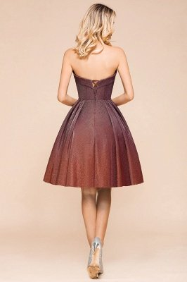 Arleen | Cute Sweetheart Sparkle Sequined Homecoming Dress_3