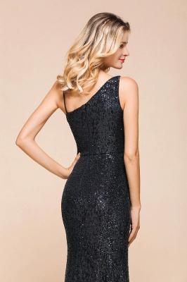 Черное платье для выпускного с блестками и блестками_7