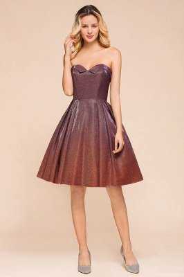 Arleen | Cute Sweetheart Sparkle Sequined Homecoming Dress