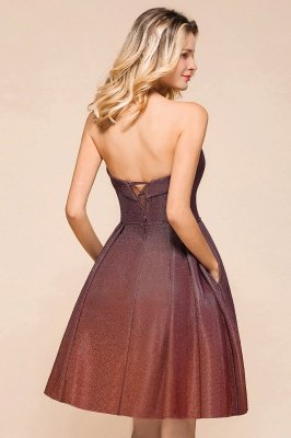 Arleen | Cute Sweetheart Sparkle Sequined Homecoming Dress_9
