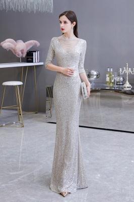 Lindo prata mangas compridas barato longo vestido de baile_14