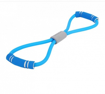 8 Word Fitness Rope Yoga Fitness Resistance Chest Expander Rope Workout Muscle Fitness Rubber Elastic Bands Gym Sports Exercise_2