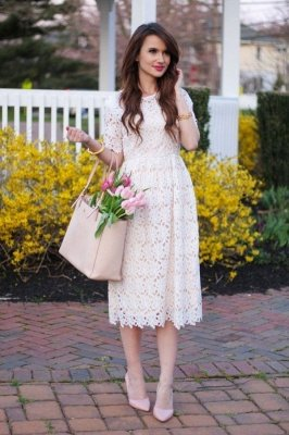 Casual White Lace Summer Spaghetti Strap Short Homecoming Dresses