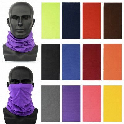 Printed Cycling Mask Scarf Unisex Magic Bandanas Scarf Outdoor Sports Face Cover Windproof Hiking Headband Neck Protector