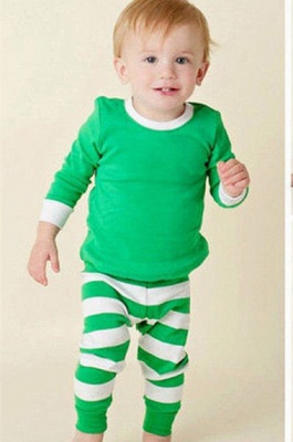 Подходящие семейные пижамы наборы рождественские пижамы с Рождеством оленей_9