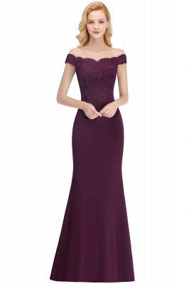Elegante Brautjungfernkleider Dunkelgrün Online Kaufen | Günstige Brautjungferkleider Mit Applikationnen_4