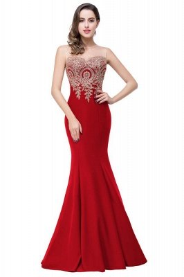 EMMY | Mermaid Floor-Length Sheer Prom Dresses with Rhinestone Appliques_4