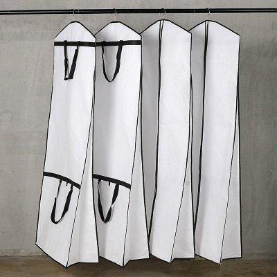 Robe de mariée vêtement sac grande couverture pour le stockage ou le voyage robe de mariée et robes longues_2