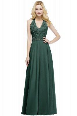 Elegantes Brautjungferkleid Mit Applikationnen Und Perlen | Günstiges Brautjungfer Kleid Online Kaufen_6
