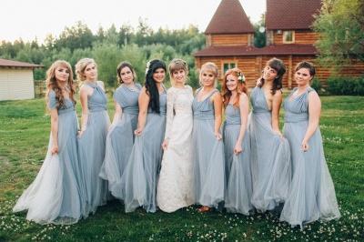 Платье для подружки невесты Aline Convertible Infinity_5
