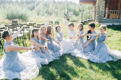 Платье для подружки невесты Aline Convertible Infinity_8