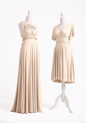 Champagne Multiway Infinity Dress_3