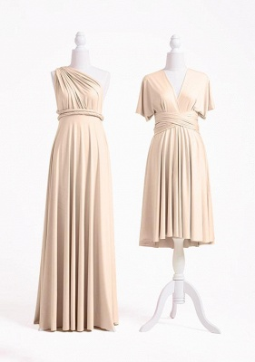 Champagne Multiway Infinity Dress_2