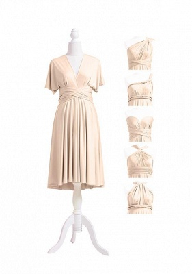 Champagne Multiway Infinity Dress_5