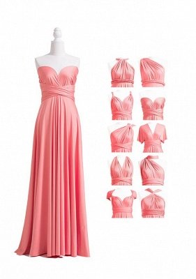 Coral Pink Multiway Infinity Dress_4