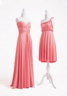 Coral Pink Multiway Infinity Dress_3