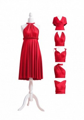 Red Multiway Infinity Dress_5