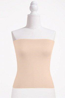 Haut de bikini bandeau pour femme Haut bandeau court uni_4
